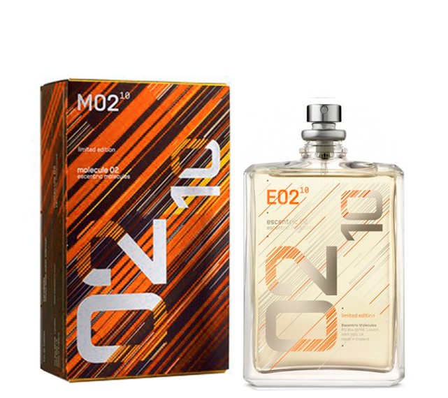 molecule 02 escentric molecules power of 10 limited edition 100ml